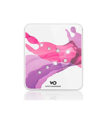 White Diamonds Liquids mini externá batéria, ružová
