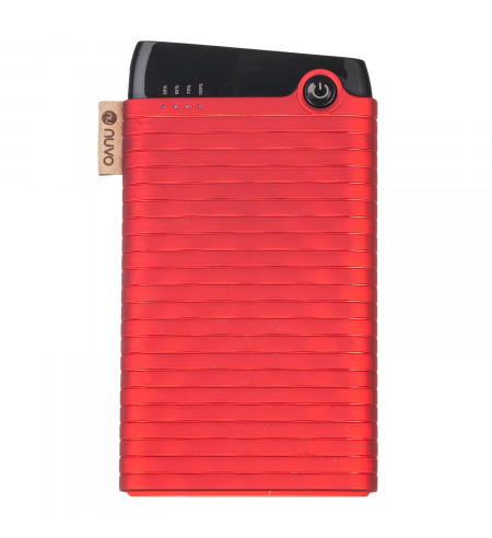 NUVO fashion powerbank 6000 mAh, červený