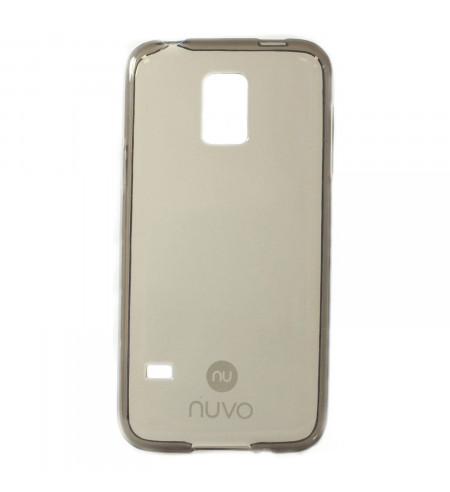 Gumené puzdro NUVO pre Huawei Y5 II, tmavo šedé