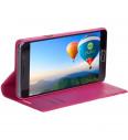 Flipové puzdro NUVO pre Sony Xperia XA, ružové