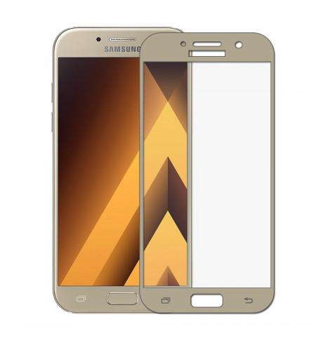 Ochranné sklo NUVO pre Samsung Galaxy A5 2017, zlaté