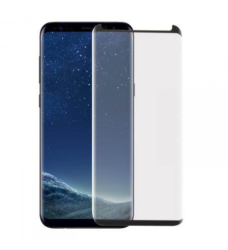 Ochranné sklo NUVO CaseFit pre Samsung Galaxy S8, čierne