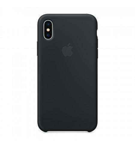 Apple iPhone X silikónové puzdro, čierne
