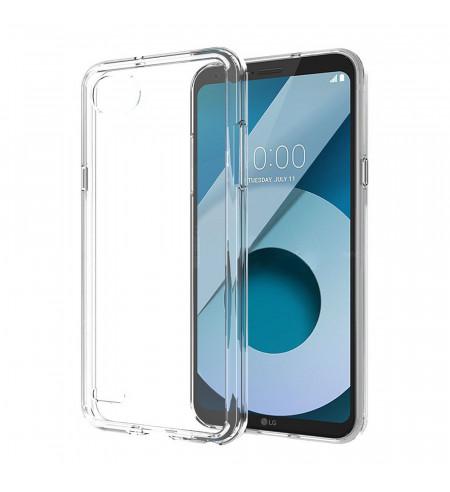 Silikónové puzdro VOIA pre LG Q6, transparentné