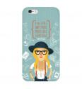 Kryt na mobil Hipster Girl