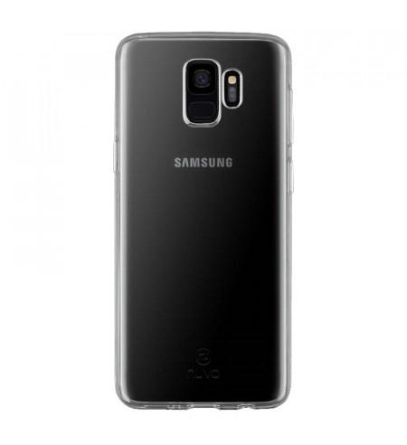 NUVO Gumené puzdro Samsung Galaxy S9, transparentné