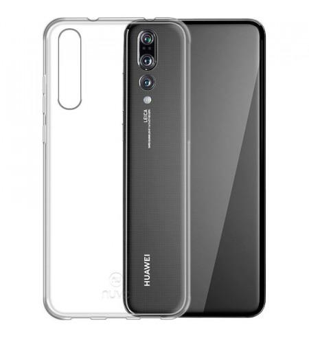 Gumené puzdro pre Huawei P20 Pro, transparentné