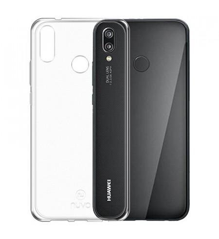 Gumené puzdro pre Huawei P20 Lite, transparentné