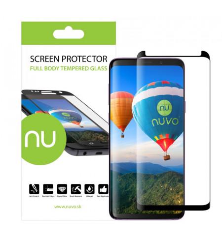 NUVO CaseFit ochranné sklo pre Samsnug Galaxy S9 Plus, čierne