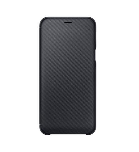 Samsung flipový kryt pre Samsung Galaxy A6, čierny