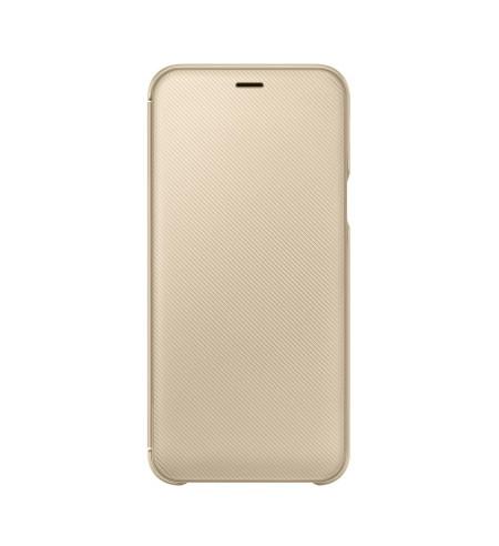 Samsung flipový kryt pre Samsung Galaxy A6, zlatý