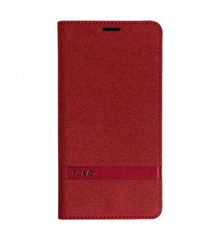 NUVO flipové puzdro pre Huawei Y6 2018, červené