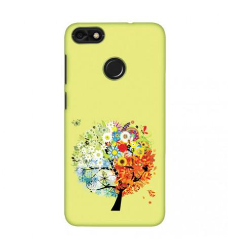 Kryt na mobil s motívom stromu s ročnými obdobiami