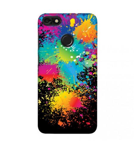 Kryt na mobil s motívom vyliatych farieb