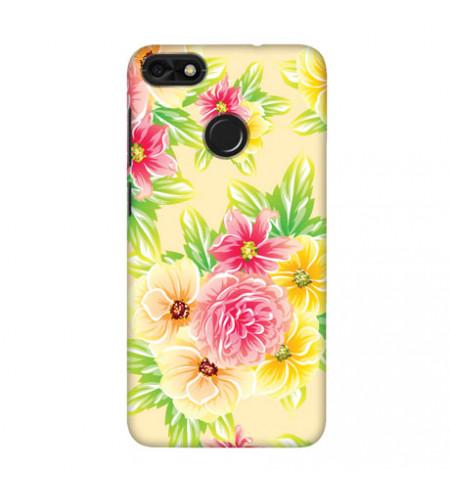 Kryt na mobil s motívom kvetov