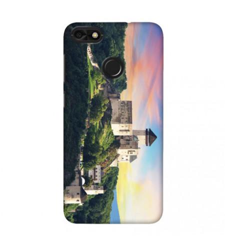 Kryt na mobil s motívom Trenčianskeho hradu