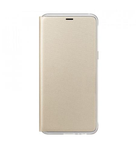 Samsung Neon flipový kryt pre Samsung Galaxy A8, zlatý