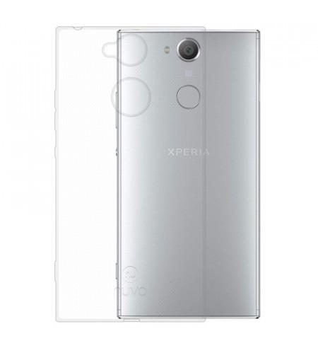 Gumené puzdro pre Sony Xperia XA2, transparentné