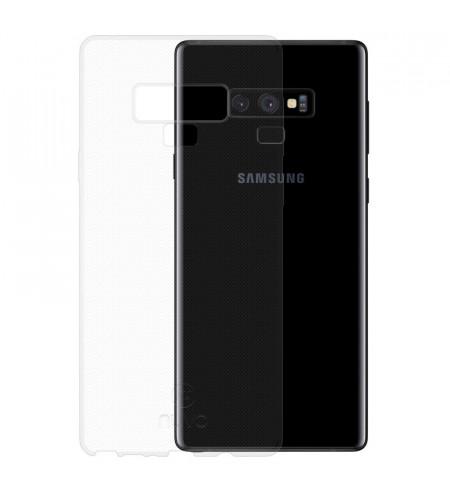 Gumené puzdro pre Samsung Galaxy Note 9, transparentné
