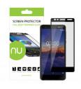 Ochranné sklo NUVO pre Nokia 3.1, čierne