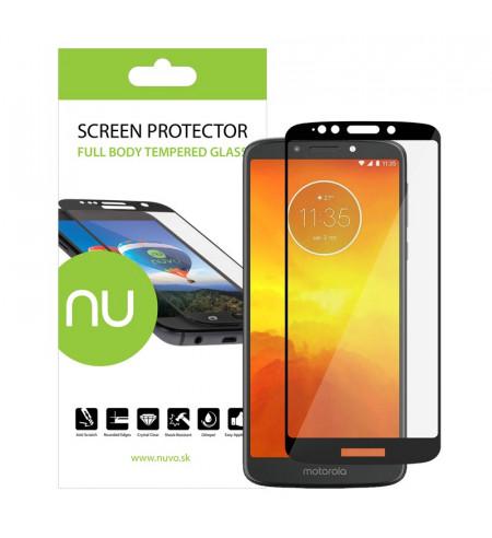 Ochranné sklo NUVO pre Lenovo Moto E5, čierne