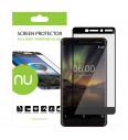 Ochranné sklo NUVO pre Nokia 6.1, čierne