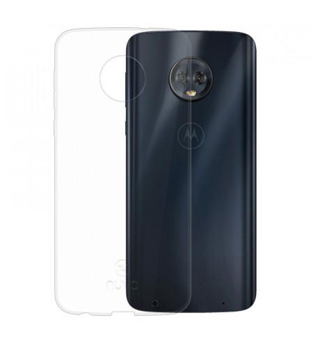 Gumené puzdro pre Lenovo Moto G6 Plus, transparentné