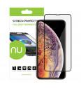 Ochranné sklo NUVO pre Apple iPhone XS Max, čierne