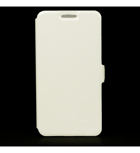 Flipové puzdro NUVO pre Nokia Lumia 635, biele