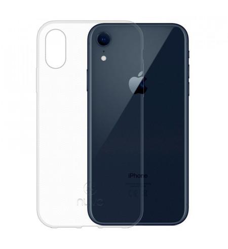 Gumené puzdro pre Apple iPhone Xr, transparentné