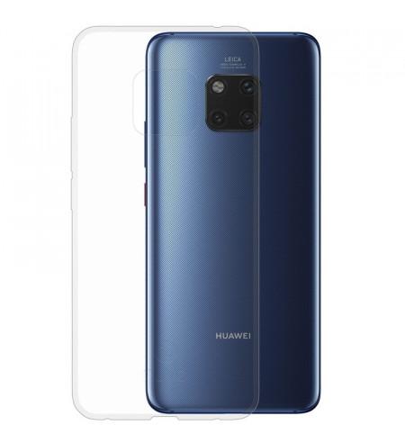 Gumené puzdro pre Huawei Mate 20 Pro, transparentné