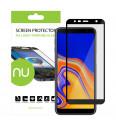 Ochranné sklo NUVO pre Samsung Galaxy J4 Plus a J6 Plus, čierne