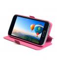 Flipové puzdro NUVO pre Samsung Galaxy A3, ružové