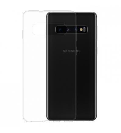 Gumené puzdro NUVO Samsung Galaxy S10 transparentné eabb482ac95