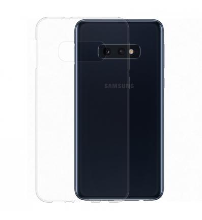 Gumené puzdro NUVO Samsung Galaxy S10e transparentné f27ac556fef
