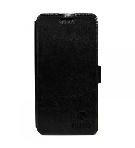 Flipové puzdro NUVO pre Sony Xperia M, čierne