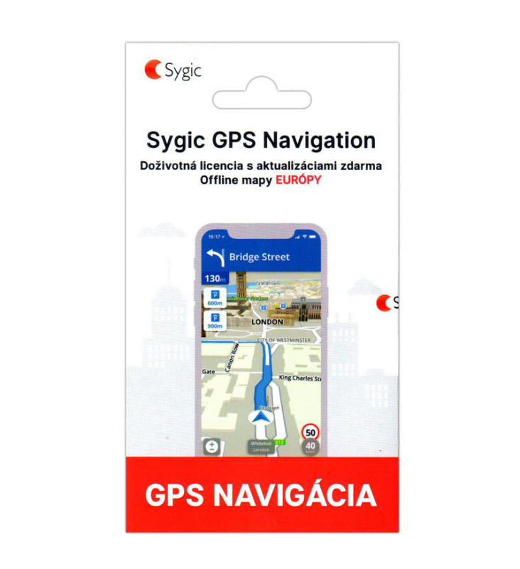 Sygic Gps Navi Car Navigation Europe With Hud And Dashcam Lifetime