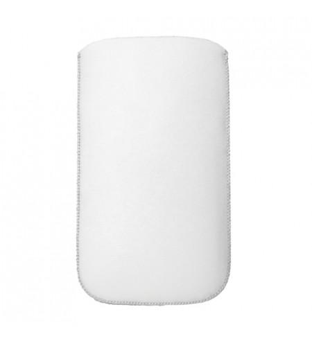 Koženková vsuvka NUVO Apple iPhone 4S, biela
