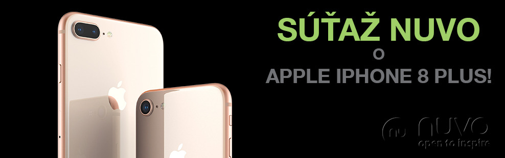 Súťaž o Apple iPhone 8 Plus!